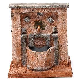 Fontana per presepe 20X15X15  cm stile palestinese s1
