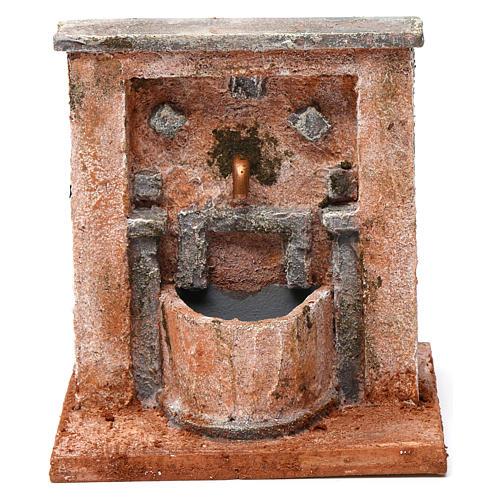 Fontana per presepe 20X15X15  cm stile palestinese 1