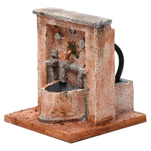 Fontana per presepe 20X15X15  cm stile palestinese 2