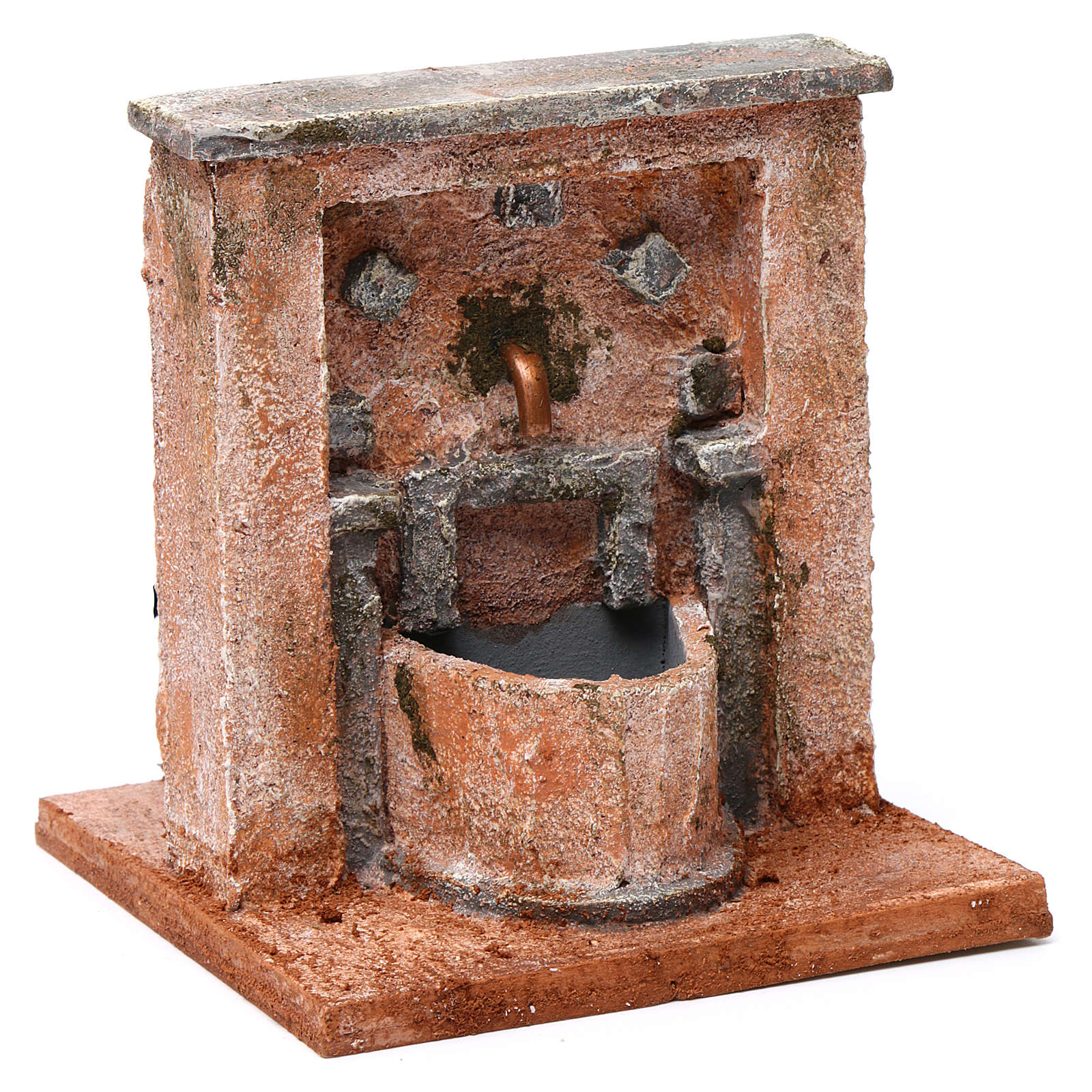 Fountain for nativity Palestinian style 20X15X15 cm 4