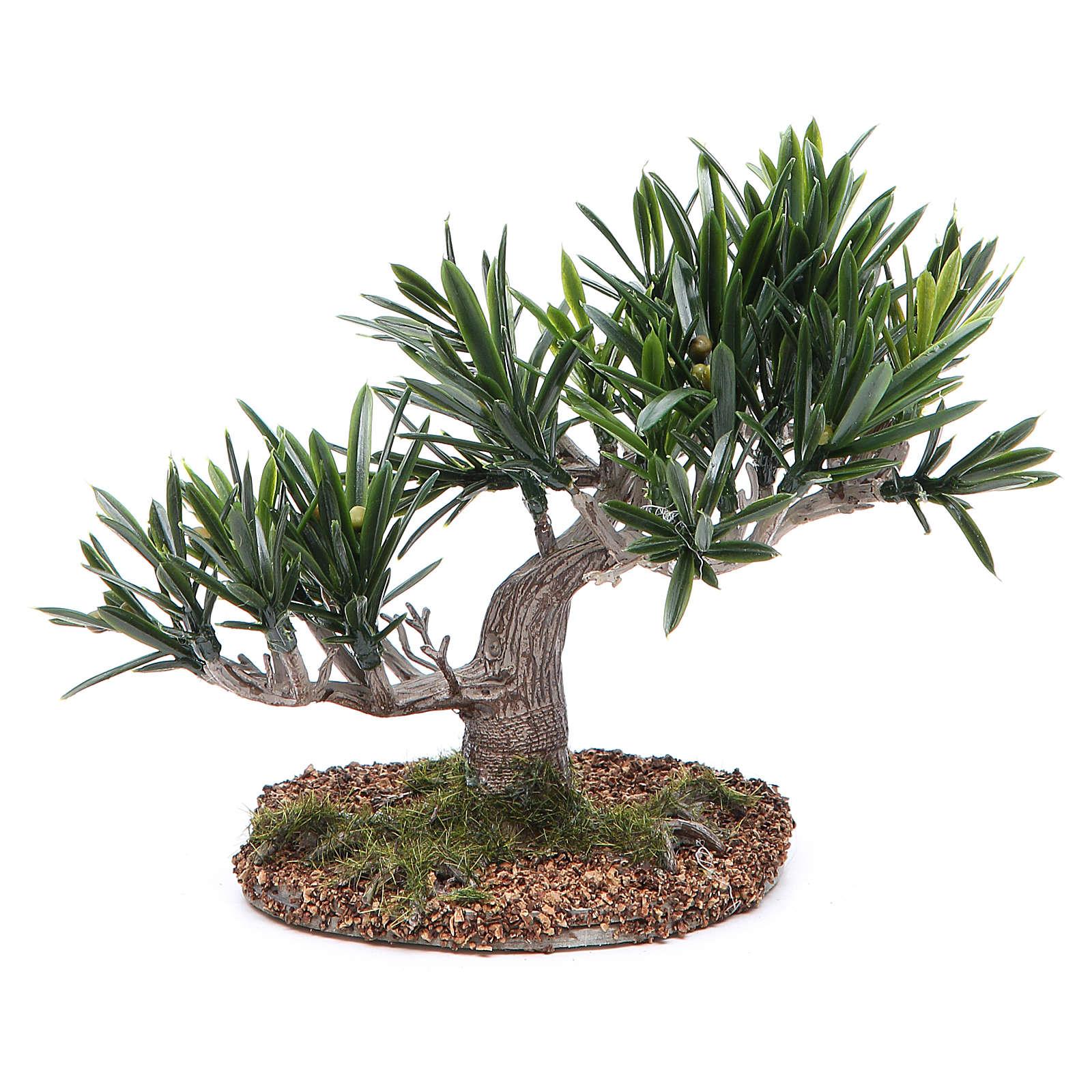 Olive tree for nativity scene in PVC 4