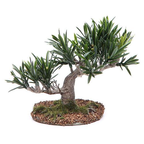 Olive tree for nativity scene in PVC 1
