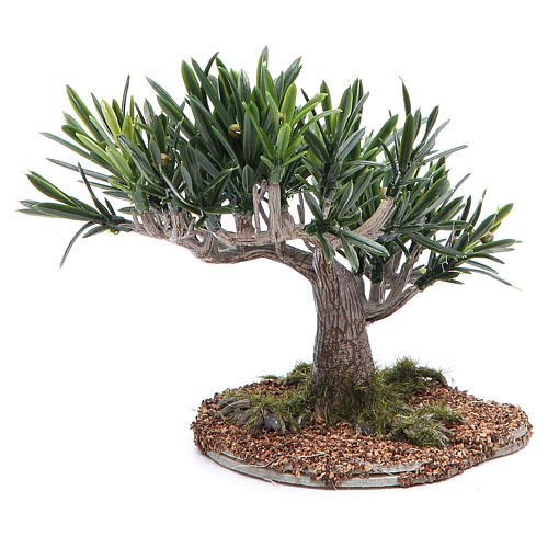 Olive tree for nativity scene in PVC 2