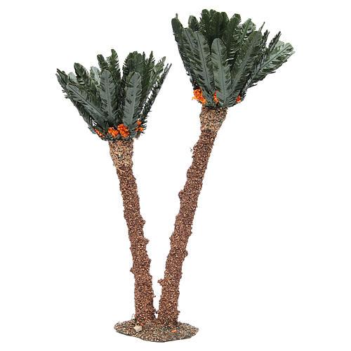 Double palm for nativity scene in cork, 40cm 2