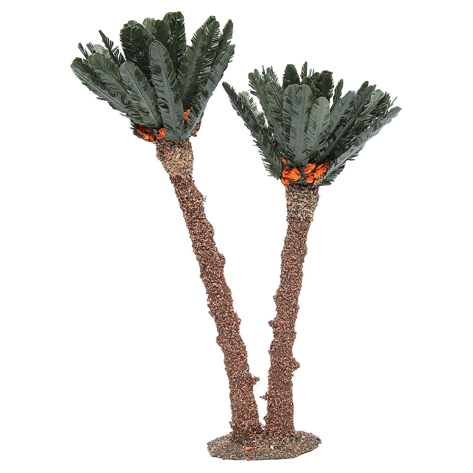 Double palm for nativity scene in cork, 40cm 4