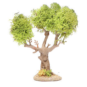 Mousse végétale, Lichens, Arbres, Pavages: Arbre en pvc et lichen pour crèche