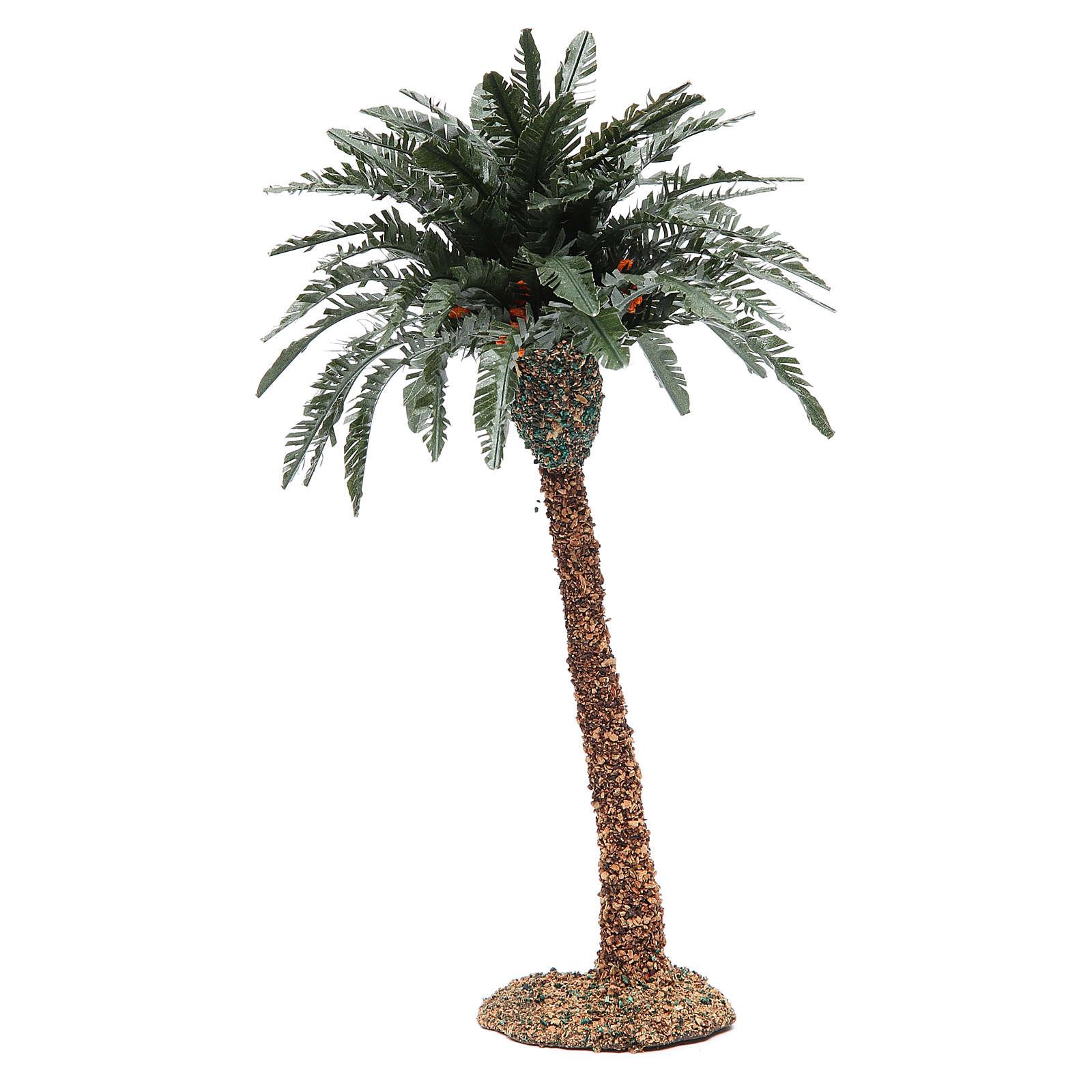 Single palm for nativity scene in resin measuring 25cm 4
