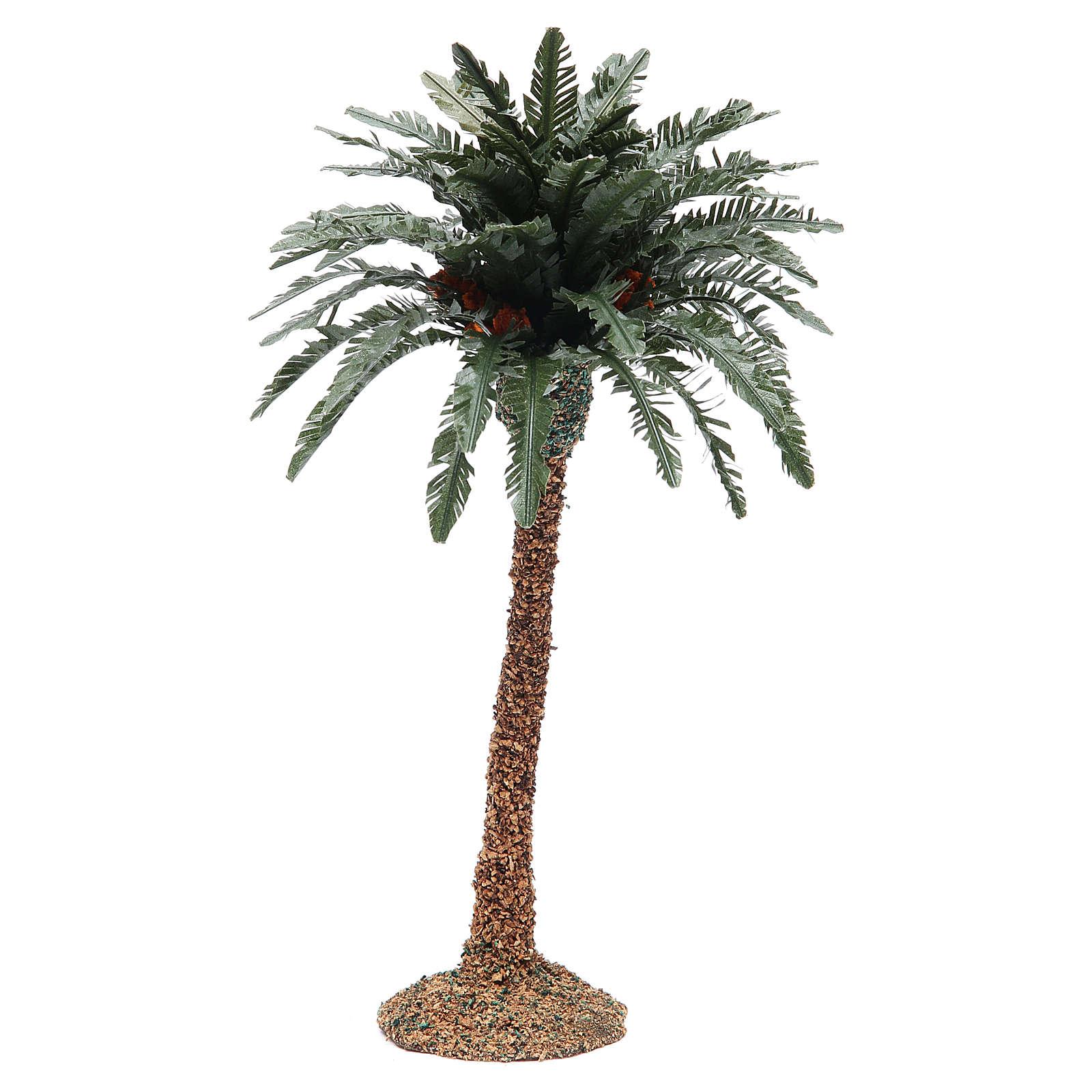 Palmier simple pour crèche h réelle 25 cm résine 4
