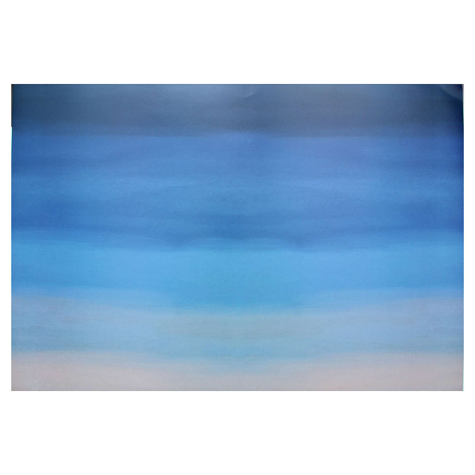 Fond de décor ciel carton 70x100 cm 4