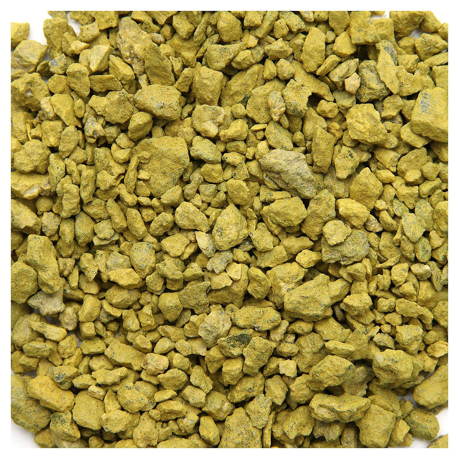 Ghiaia gialla 500 gr presepe 4