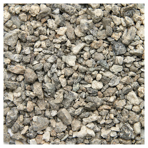 Natural pebbles for nativities, 500gr 1