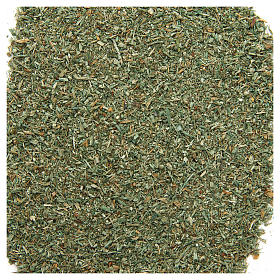 Green powder for DIY nativities, 80 gr s1