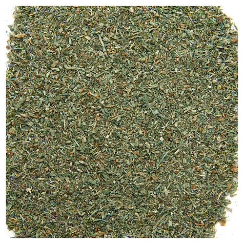 Green powder for DIY nativities, 80 gr 1