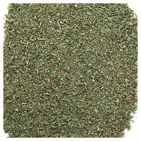 Mech, porosty, krzewy, podłoża: Pyłek zielony 80g do szopki