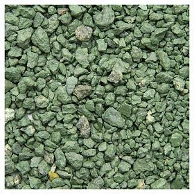Ghiaia verde 500 gr presepe s1