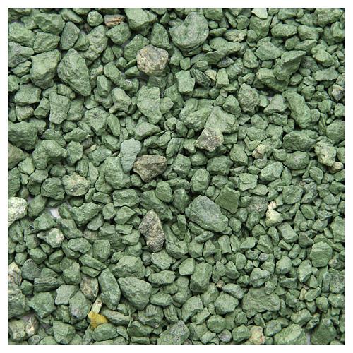 Ghiaia verde 500 gr presepe 1