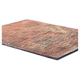 Pannello tetto presepe rosso sfumato tegole piccole 70x50 cm s2