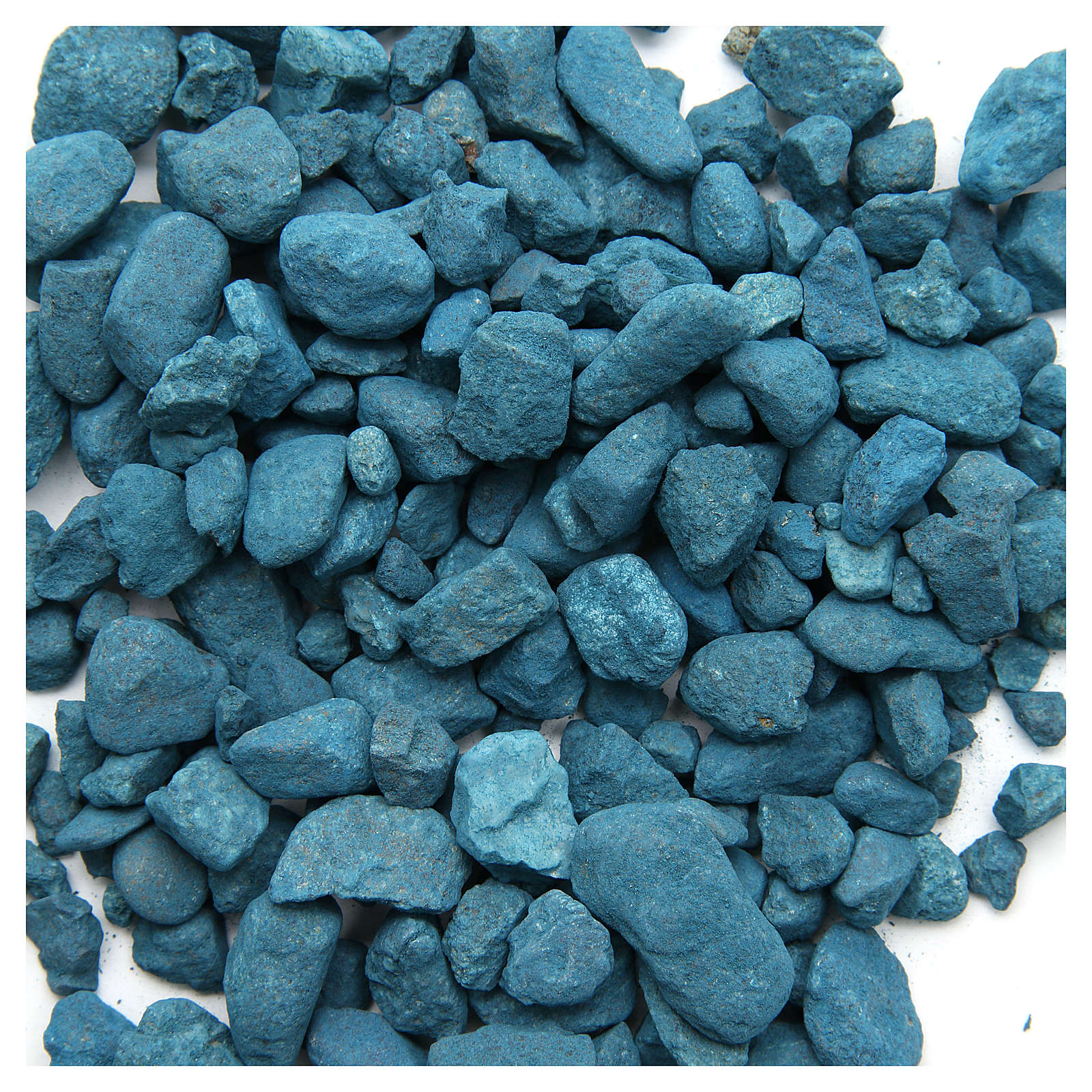 Light blue pebbles for nativities, 500gr 4