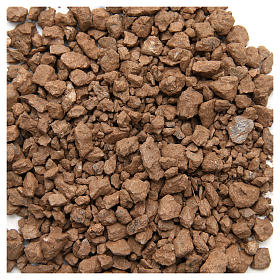 Brown pebbles for nativities, 500gr s1