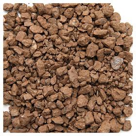 Ghiaia marrone 500 gr presepe s1