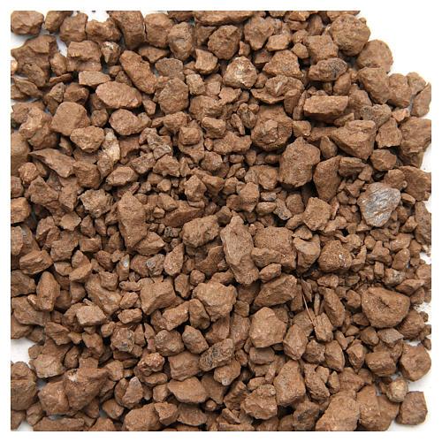 Ghiaia marrone 500 gr presepe 1