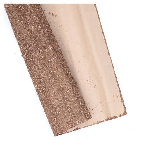 Roll of brown paper for DIY nativities, 50x70cm 2