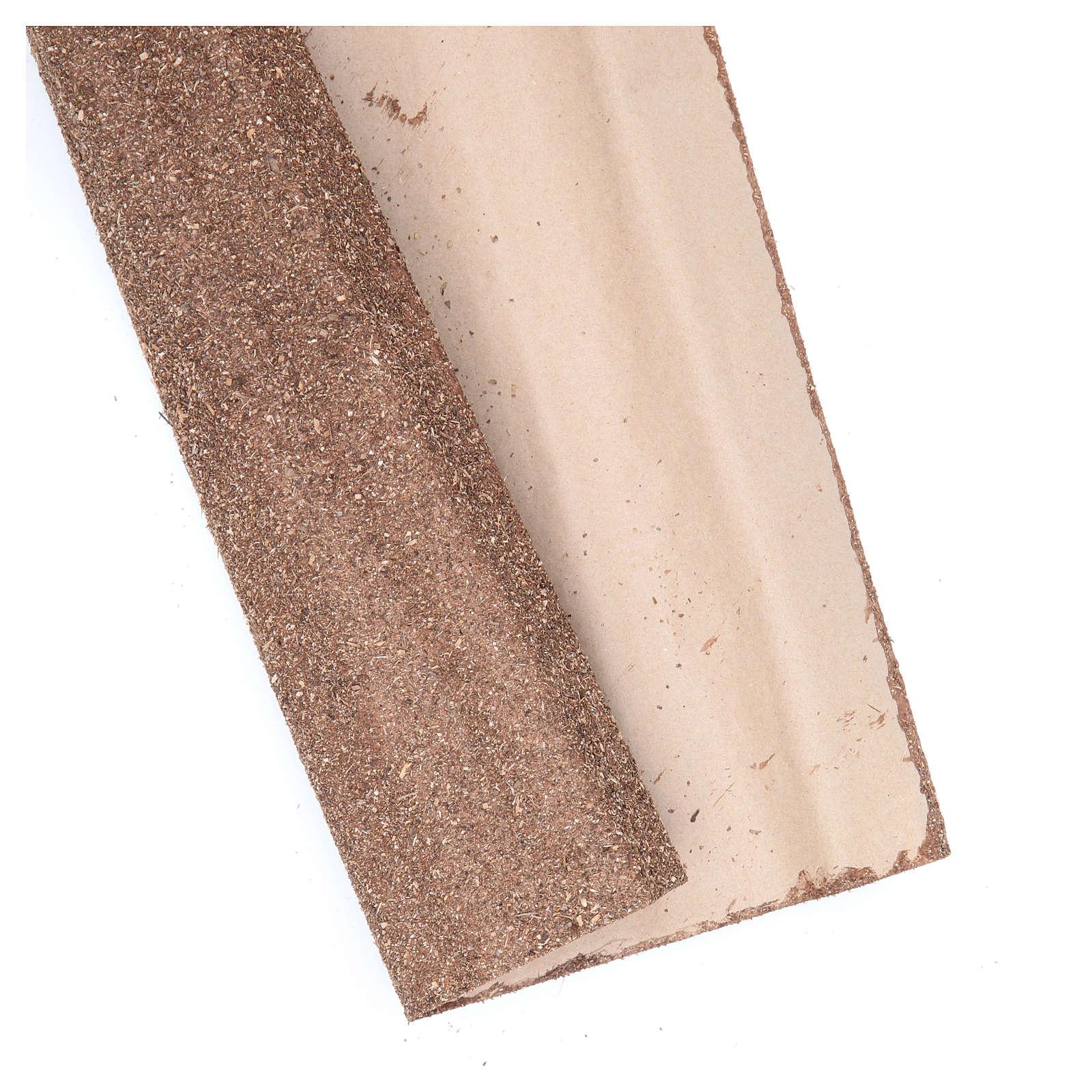 Rotolo di carta marrone 50x70 cm per presepe 4
