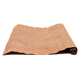 Rotolo di carta marrone 50x70 cm per presepe s2