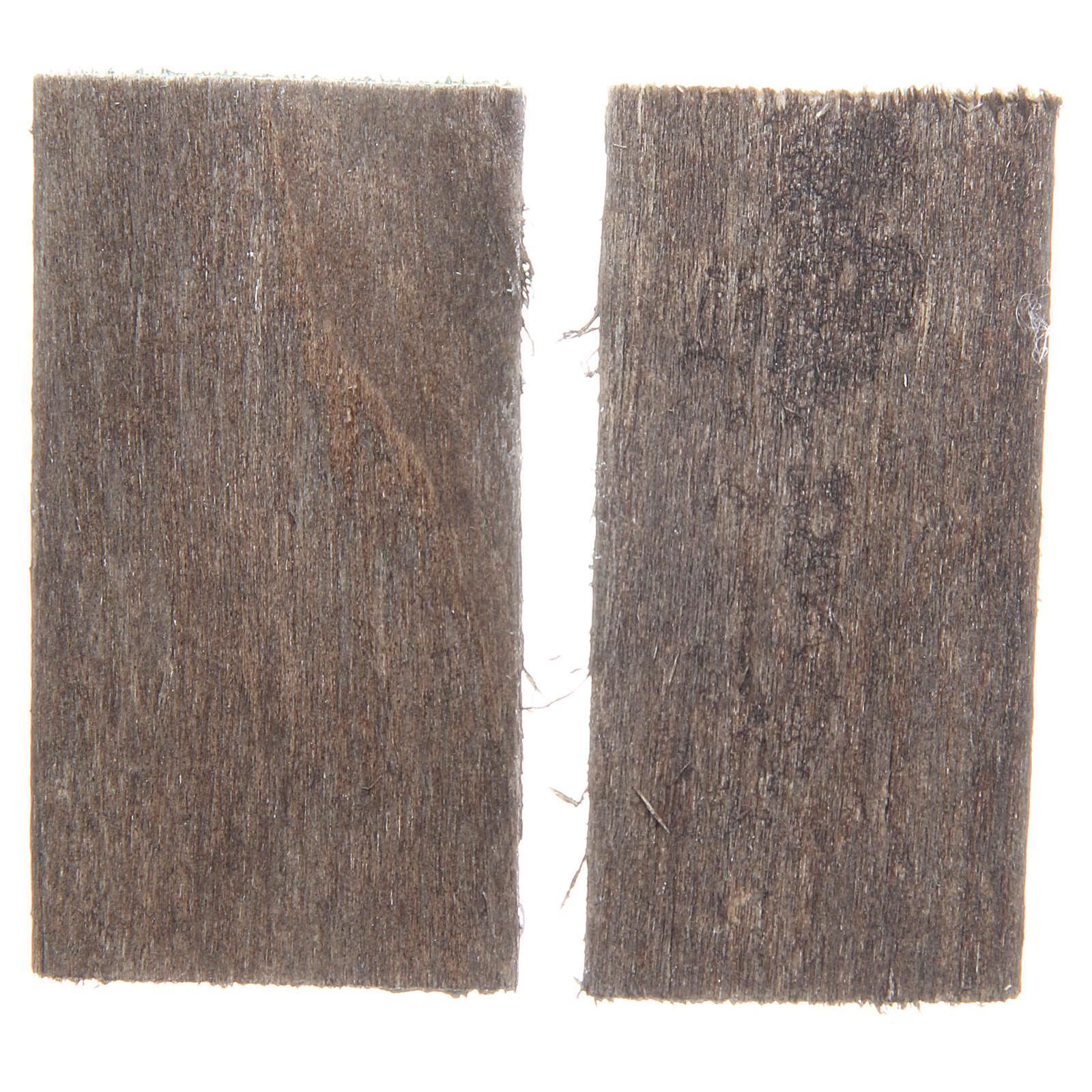Ventana de madera cm 5,5x3 rectangular set 2 piezas 4