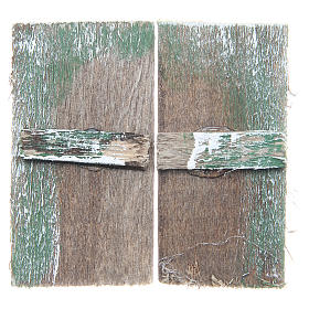 Ventana de madera cm 5,5x3 rectangular set 2 piezas s1