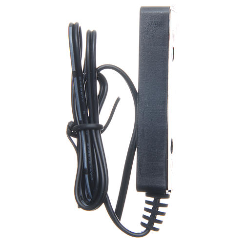 Multiprise 3.5v-4v pour transformateur avec 50 cm de câble bas voltage 2