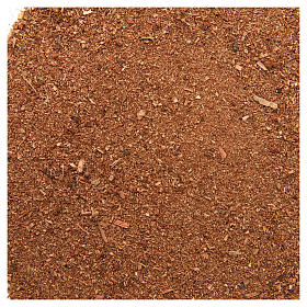 Muschio, licheni, piante, pavimentazioni: Polvere rossa 80 gr per presepe