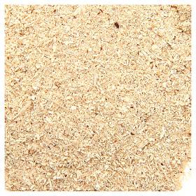 Muschio, licheni, piante, pavimentazioni: Polvere tipo sabbia 80 gr presepe