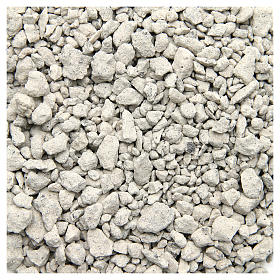 Moss, Trees, Palm trees, Floorings: White pebbles for nativities, 500gr