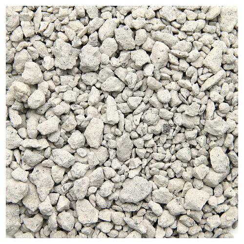 White pebbles for nativities, 500gr 1