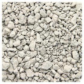 Muschio, licheni, piante, pavimentazioni: Ghiaia bianca 500 gr per presepe
