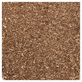 Moss, Trees, Palm trees, Floorings: Brown powder for DIY nativities, 80 gr