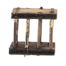 Cage 2,5x3x2,5 cm for Neapolitan nativity s4