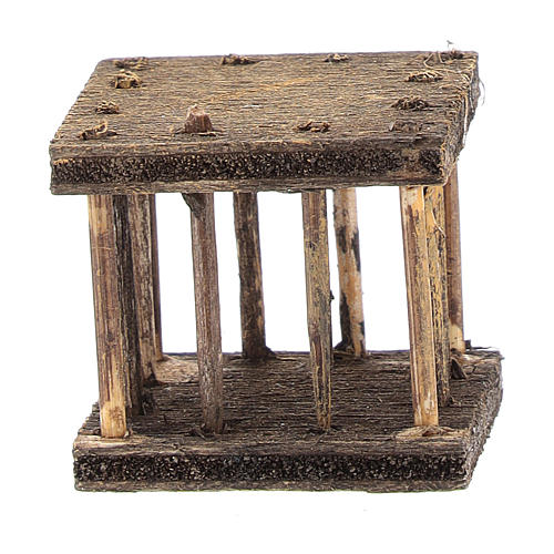Cage 2,5x3x2,5 cm for Neapolitan nativity 1