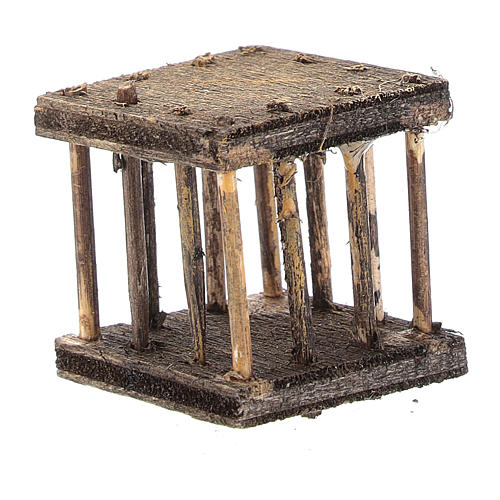 Cage 2,5x3x2,5 cm for Neapolitan nativity 2