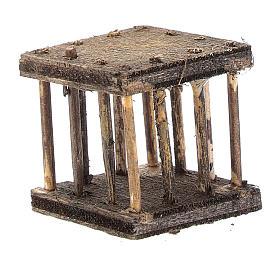 Cage 2,5x3x2,5 cm for Neapolitan nativity s2