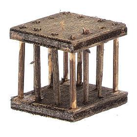 Cage 2,5x3x2,5 cm for Neapolitan nativity s3