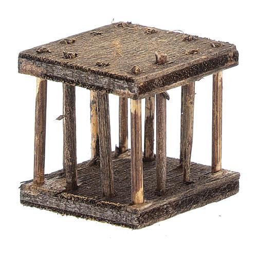 Cage 2,5x3x2,5 cm for Neapolitan nativity 3