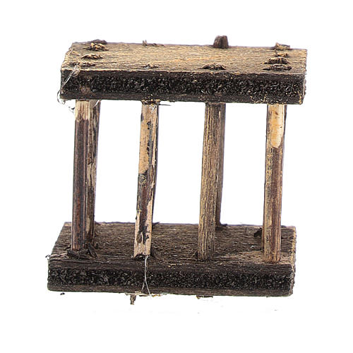 Cage 2,5x3x2,5 cm for Neapolitan nativity 4