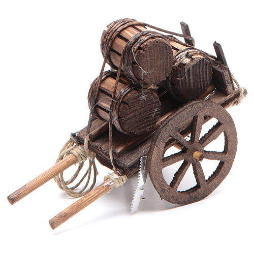 Fireworks cart 7x10x4cm for Neapolitan nativity 1