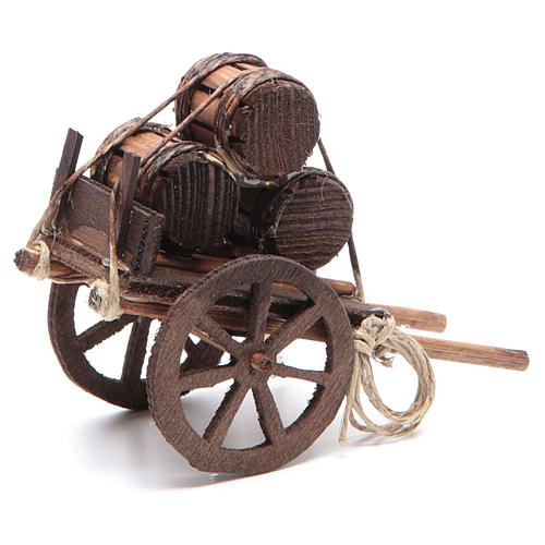 Fireworks cart 7x10x4cm for Neapolitan nativity 2