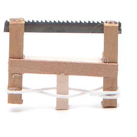 Seghetto del falegname presepe napoletano 5x3,5 cm s1
