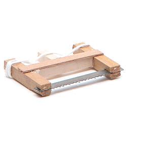 Seghetto del falegname presepe napoletano 5x3,5 cm s3