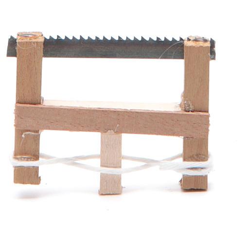 Seghetto del falegname presepe napoletano 5x3,5 cm 1