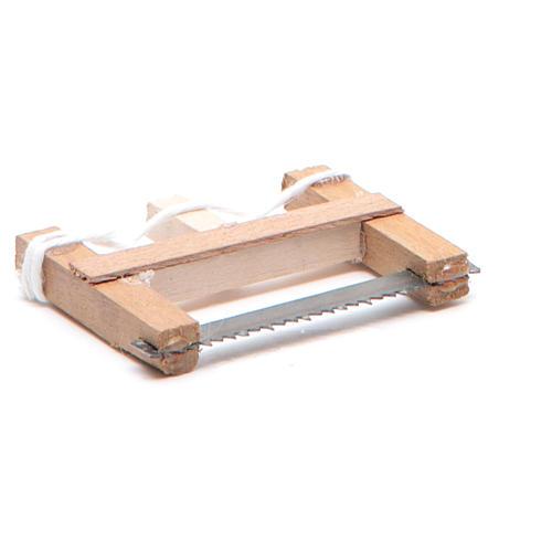 Seghetto del falegname presepe napoletano 5x3,5 cm 3